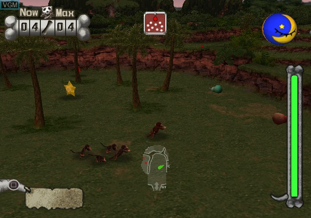 Image in-game du jeu Adventures of Darwin, The sur Sony Playstation 2