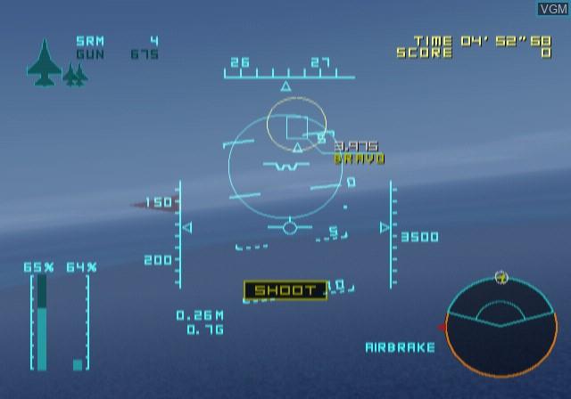 Image in-game du jeu Aero Elite - Combat Academy sur Sony Playstation 2