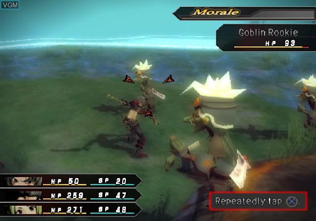 Image in-game du jeu .hack//G.U. Vol. 1//Rebirth sur Sony Playstation 2