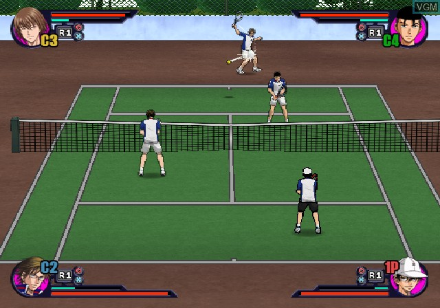 Image in-game du jeu Tennis no Oji-Sama - Smash Hit! sur Sony Playstation 2