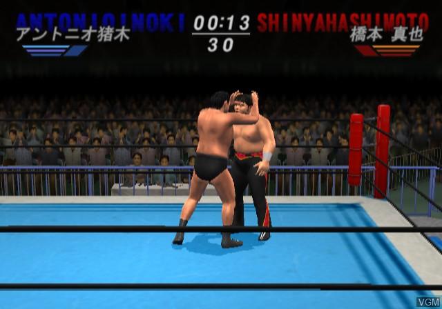Image in-game du jeu All-Star Pro-Wrestling sur Sony Playstation 2