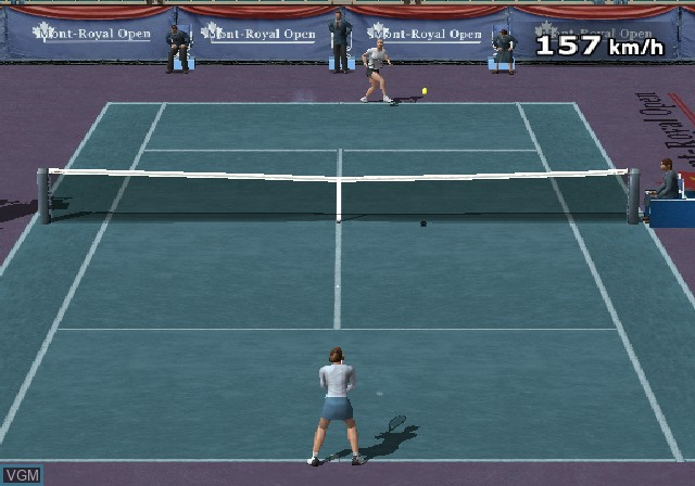 Image in-game du jeu Climax Tennis - WTA Tour Edition sur Sony Playstation 2