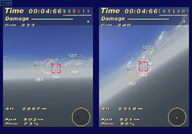 Image in-game du jeu Victory Wings - Zero Pilot Series sur Sony Playstation 2