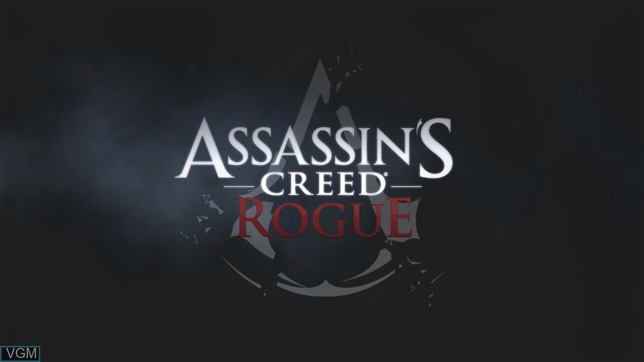 Image de l'ecran titre du jeu Assassin's Creed Rogue sur Sony Playstation 3