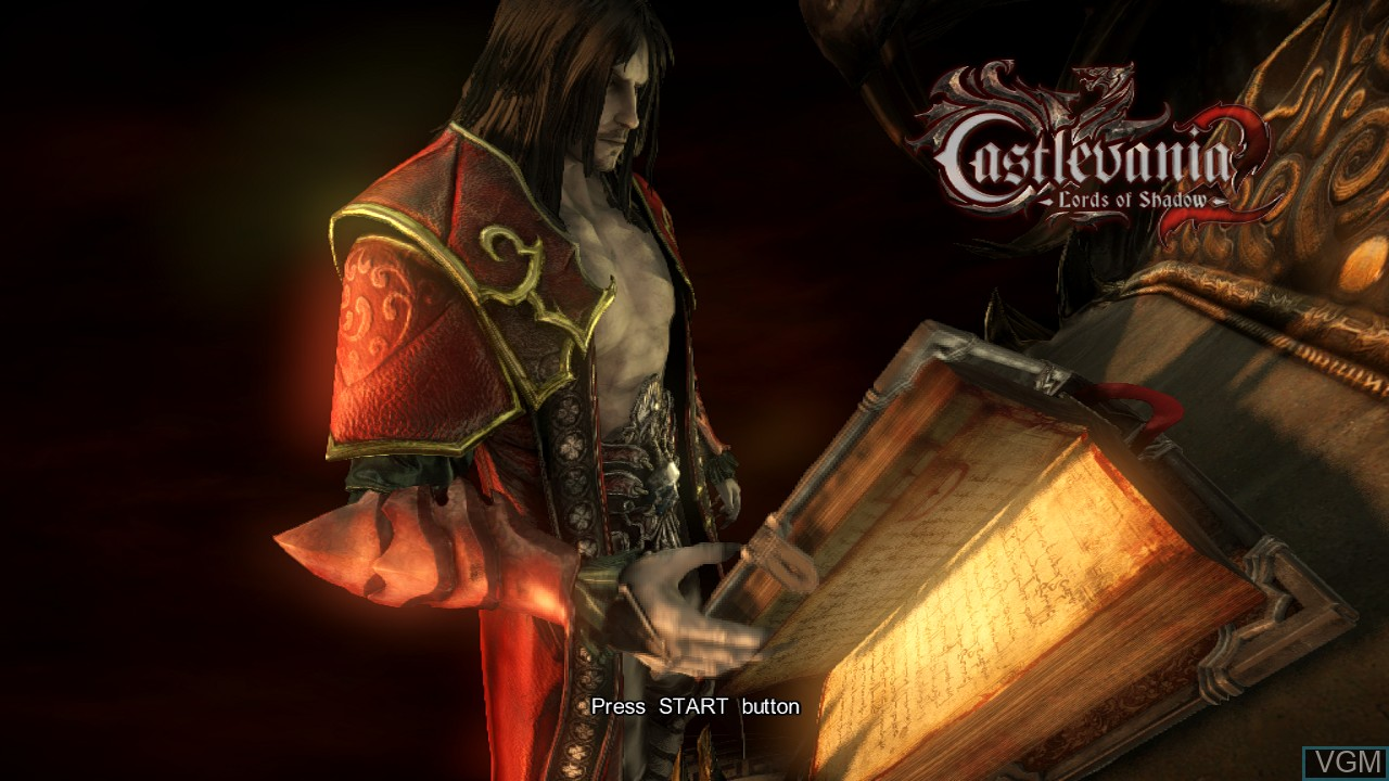 Image de l'ecran titre du jeu Castlevania - Lords of Shadow 2 sur Sony Playstation 3