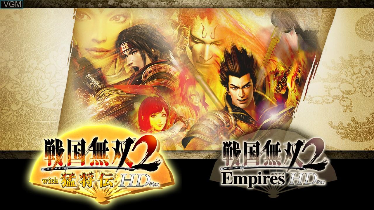 Image de l'ecran titre du jeu Sengoku Musou 2 with Moushouden & Empires HD Version sur Sony Playstation 3