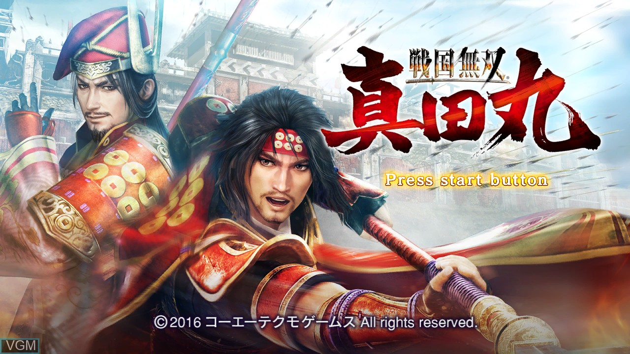 Image de l'ecran titre du jeu Sengoku Musou - Sanada Maru sur Sony Playstation 3