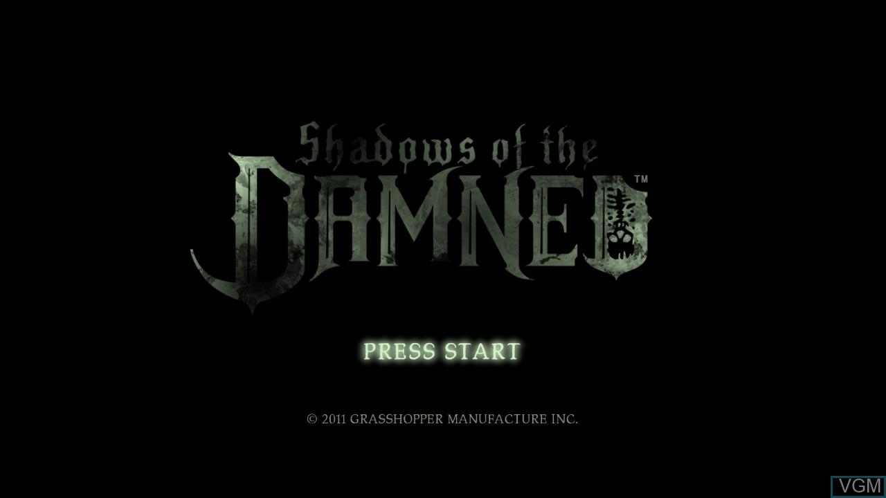 Image de l'ecran titre du jeu Shadows of the Damned sur Sony Playstation 3