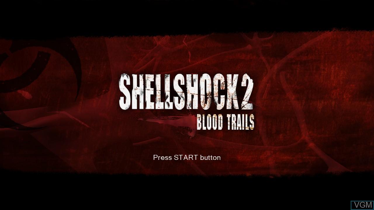 Image de l'ecran titre du jeu ShellShock 2 - Blood Trails sur Sony Playstation 3