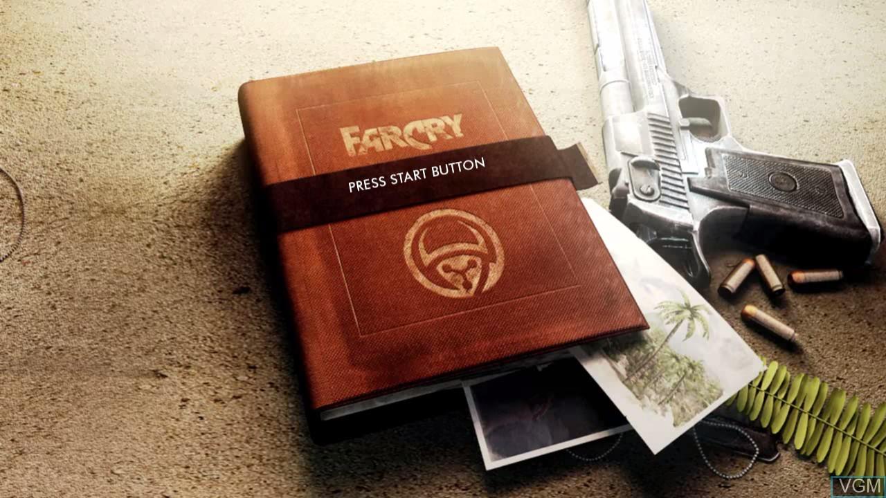 Image de l'ecran titre du jeu Far Cry Classic sur Sony Playstation 3