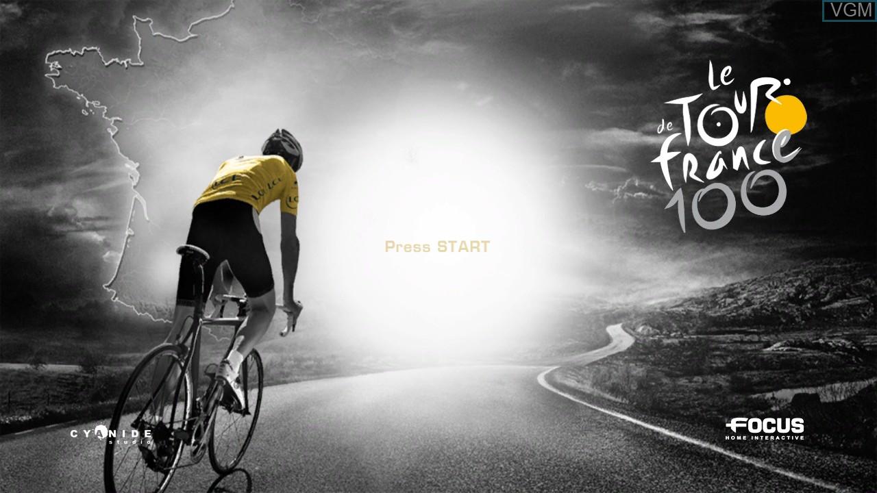 Image de l'ecran titre du jeu Tour de France 2013, Le - 100th Edition sur Sony Playstation 3