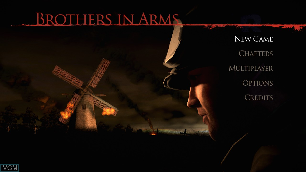 Image du menu du jeu Brothers in Arms - Hell's Highway sur Sony Playstation 3