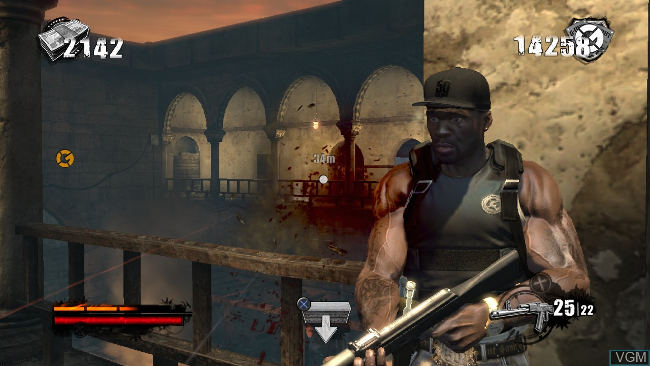 Image in-game du jeu 50 Cent - Blood on the Sand sur Sony Playstation 3