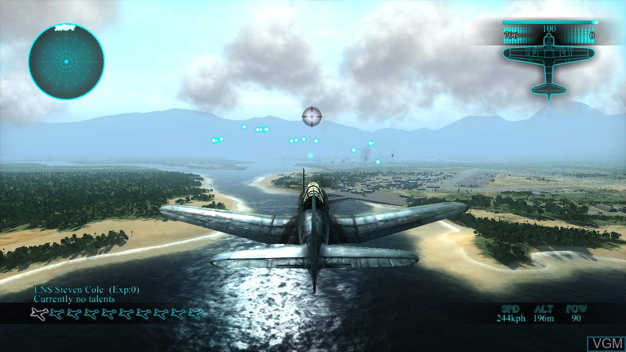 Image in-game du jeu Air Conflicts - Pacific Carriers sur Sony Playstation 3
