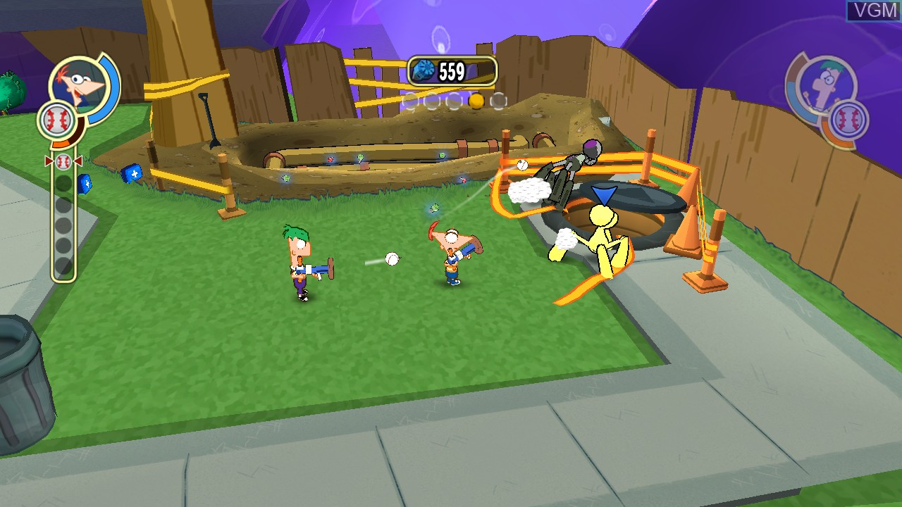 Phineas and Ferb - Across the 2nd Dimension