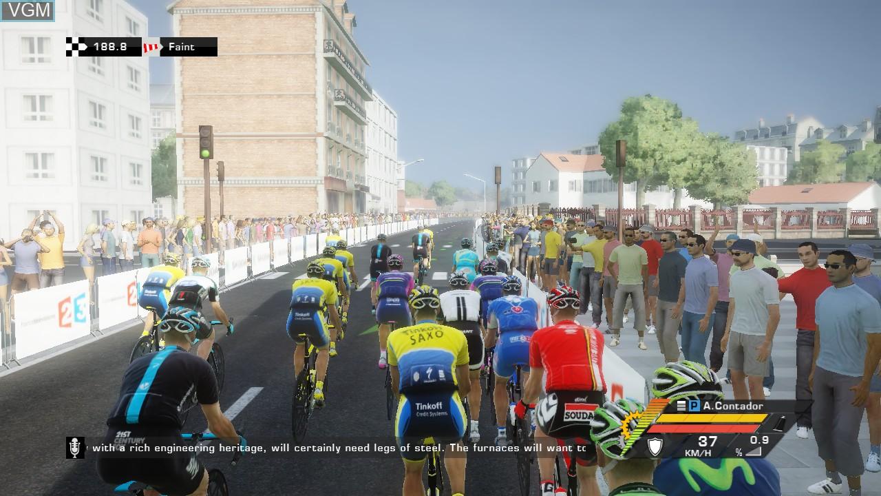 Image in-game du jeu Tour de France 2014, Le sur Sony Playstation 3