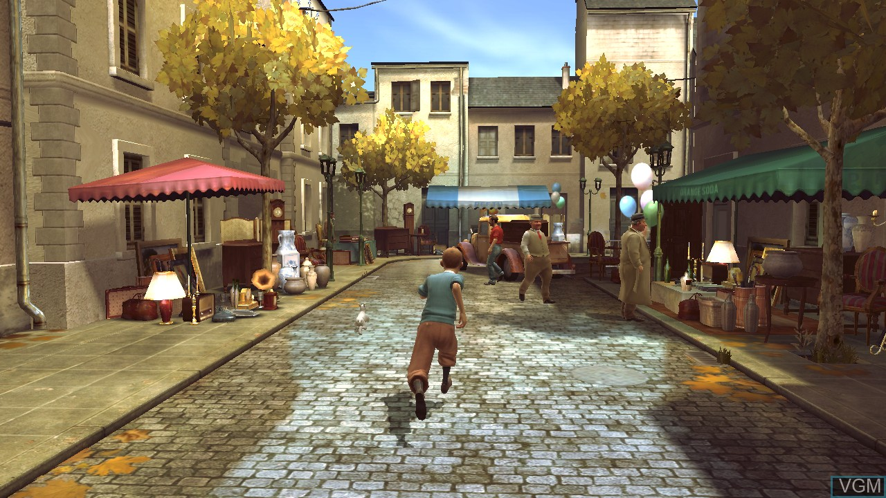 Image in-game du jeu Adventures of Tintin, The - The Secret of the Unicorn sur Sony Playstation 3