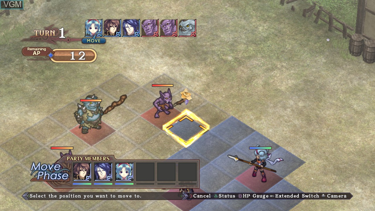 Image in-game du jeu Agarest - Generations of War Zero sur Sony Playstation 3