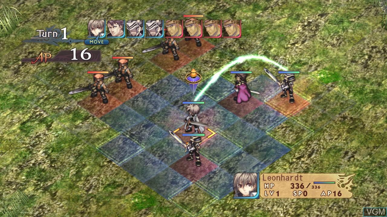Image in-game du jeu Agarest - Generations of War sur Sony Playstation 3