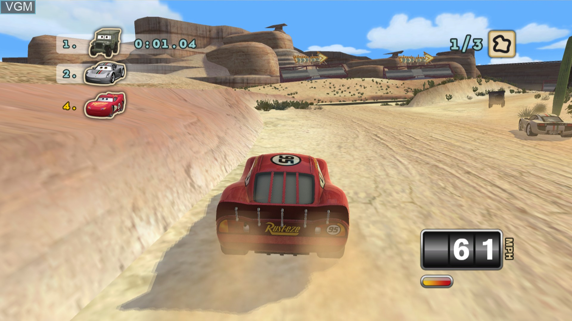 Image in-game du jeu Cars Mater-National Championship sur Sony Playstation 3
