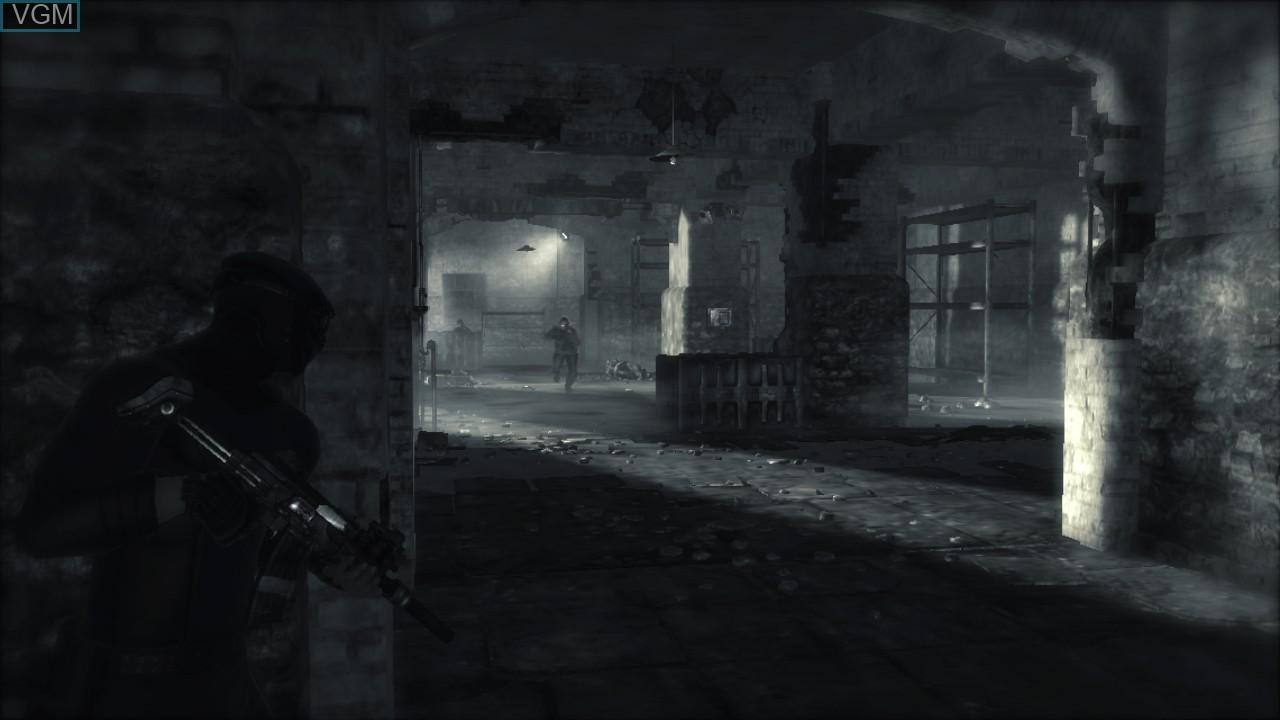 Image in-game du jeu Dark Sector sur Sony Playstation 3