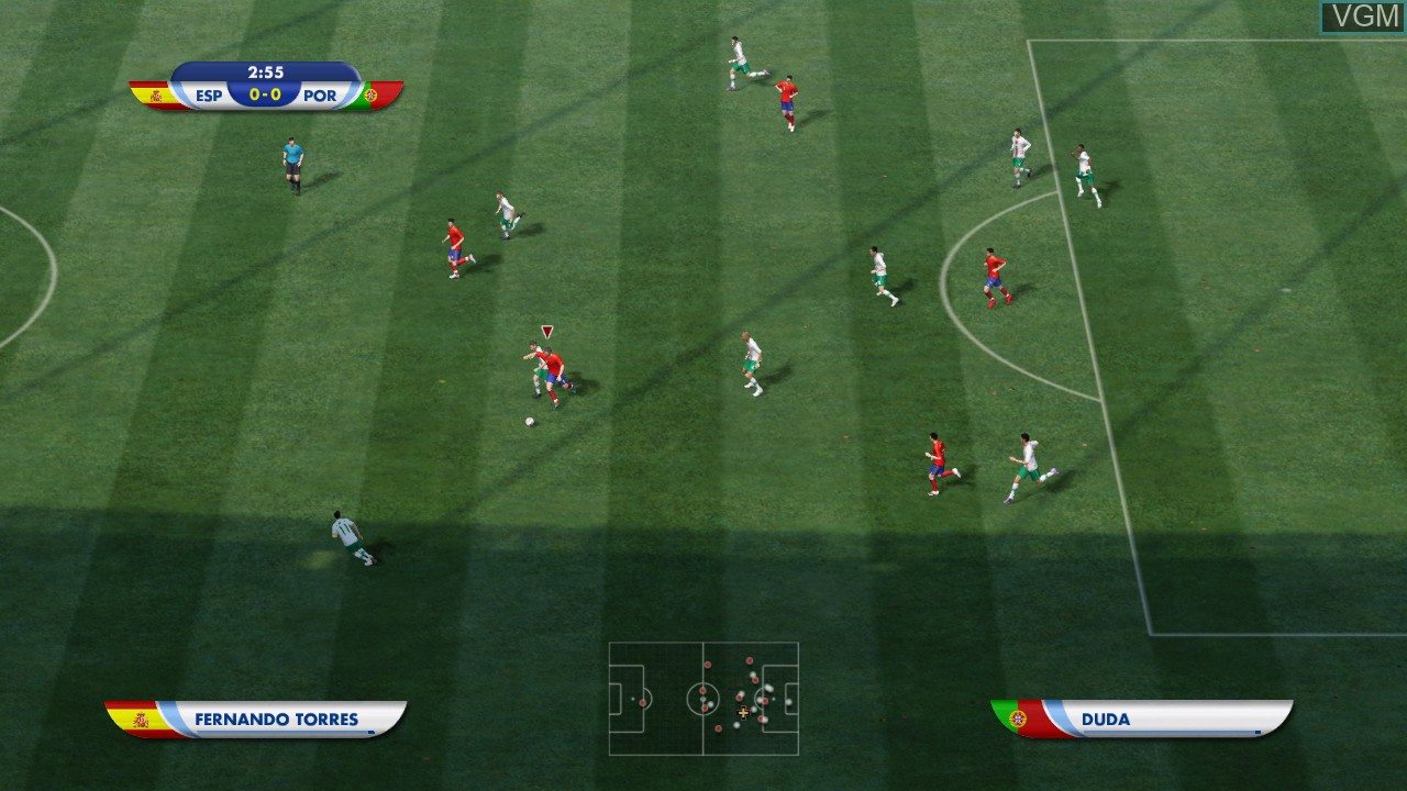 Image in-game du jeu 2010 FIFA World Cup South Africa sur Sony Playstation 3