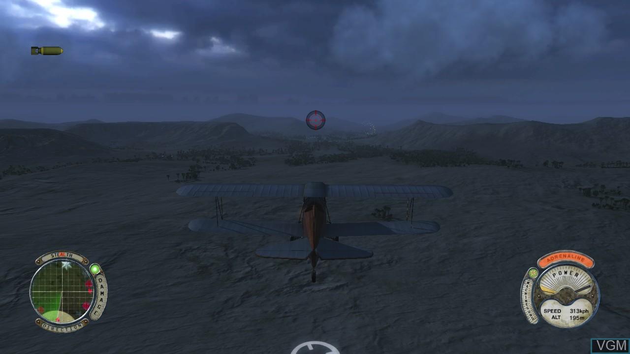Image in-game du jeu Air Conflicts - Secret Wars sur Sony Playstation 3