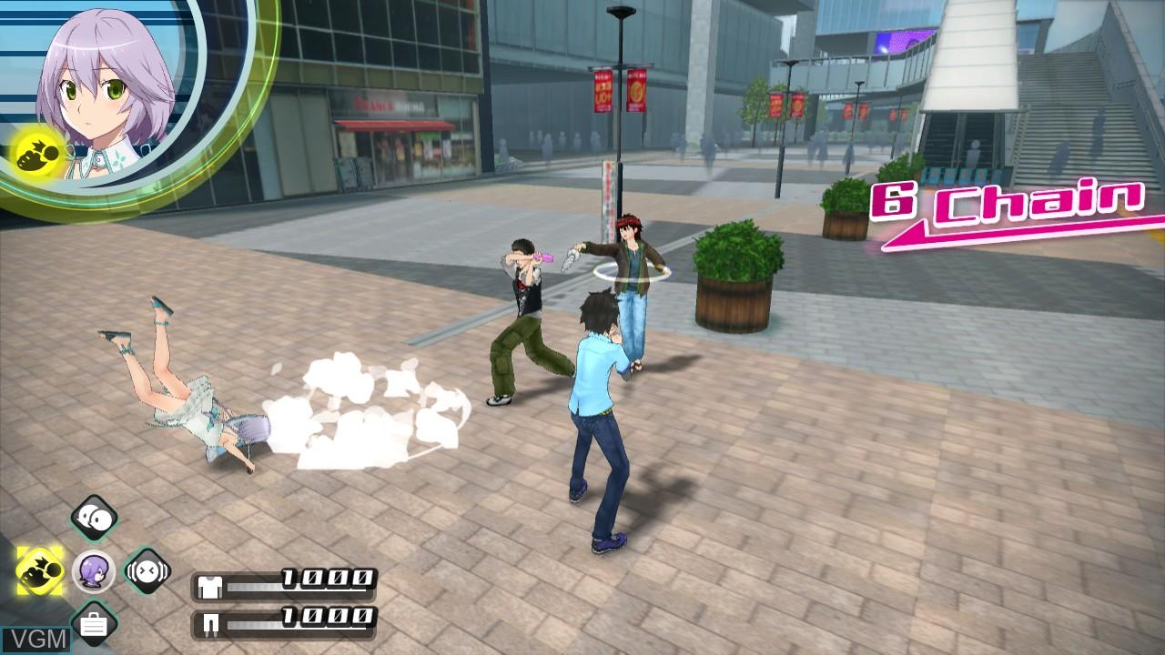 Image in-game du jeu Akiba's Trip - Undead & Undressed sur Sony Playstation 3