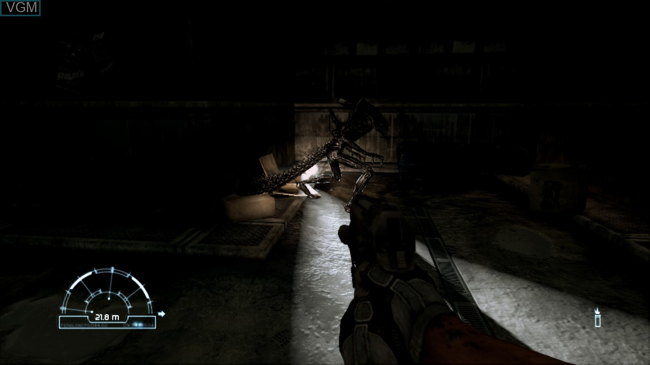Image in-game du jeu Aliens vs. Predator sur Sony Playstation 3