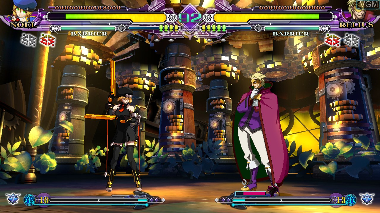 Image in-game du jeu BlazBlue - Continuum Shift Extend sur Sony Playstation 3