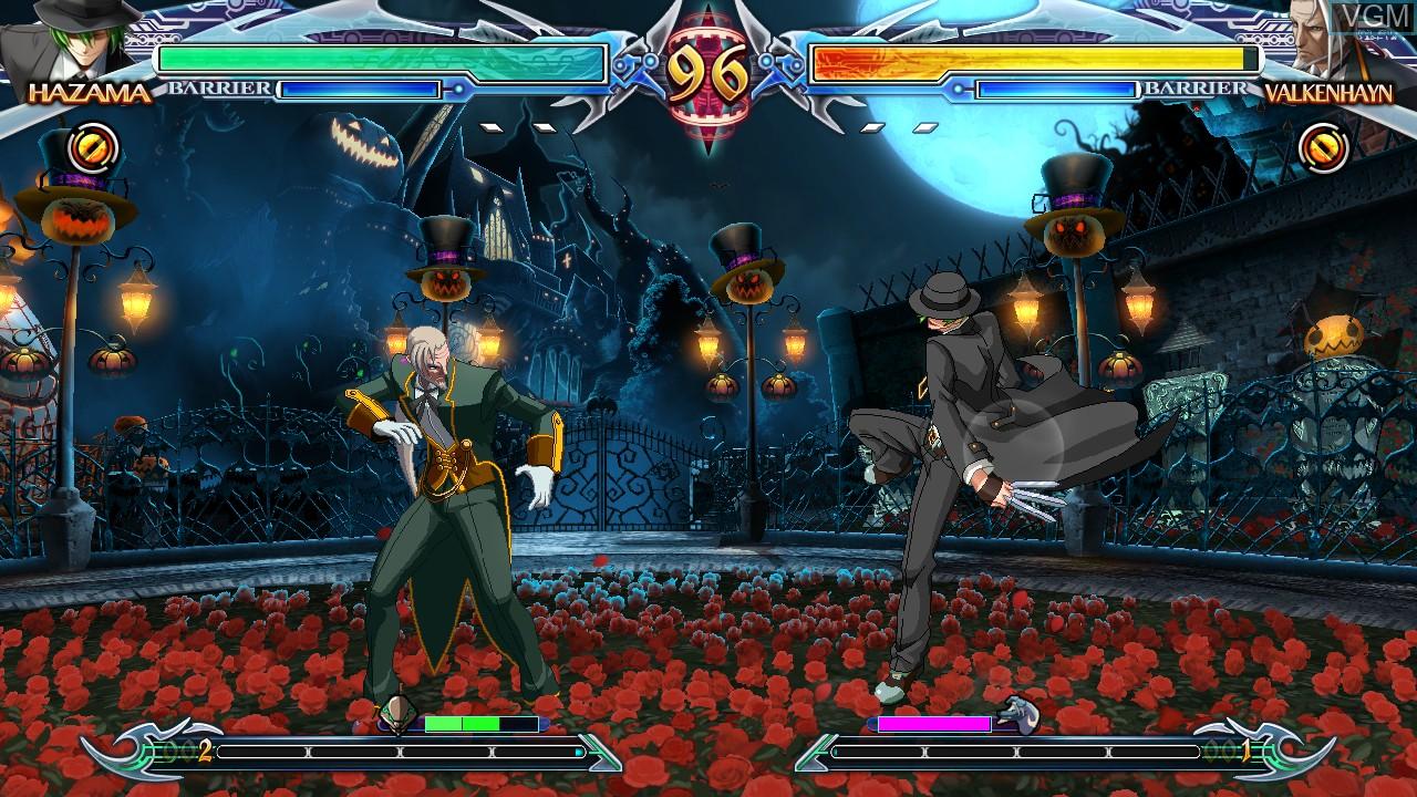 Image in-game du jeu BlazBlue - Chrono Phantasma Extend sur Sony Playstation 3