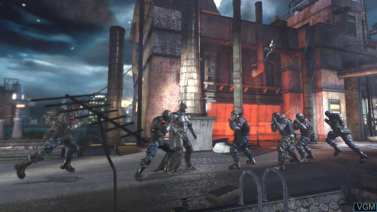 Image in-game du jeu Batman - Arkham Origins Blackgate - Deluxe Edition sur Sony Playstation 3