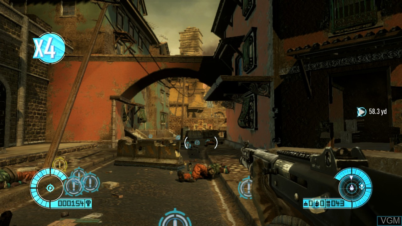Image in-game du jeu Bodycount sur Sony Playstation 3