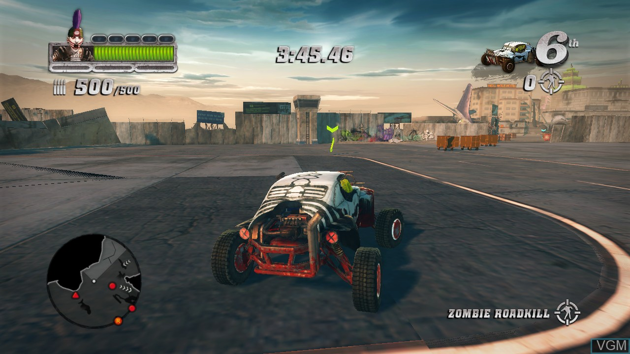 Image in-game du jeu Blood Drive sur Sony Playstation 3