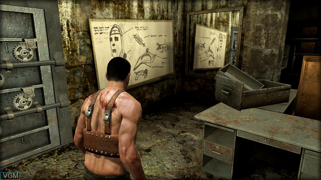Image in-game du jeu Saw II - Flesh & Blood sur Sony Playstation 3