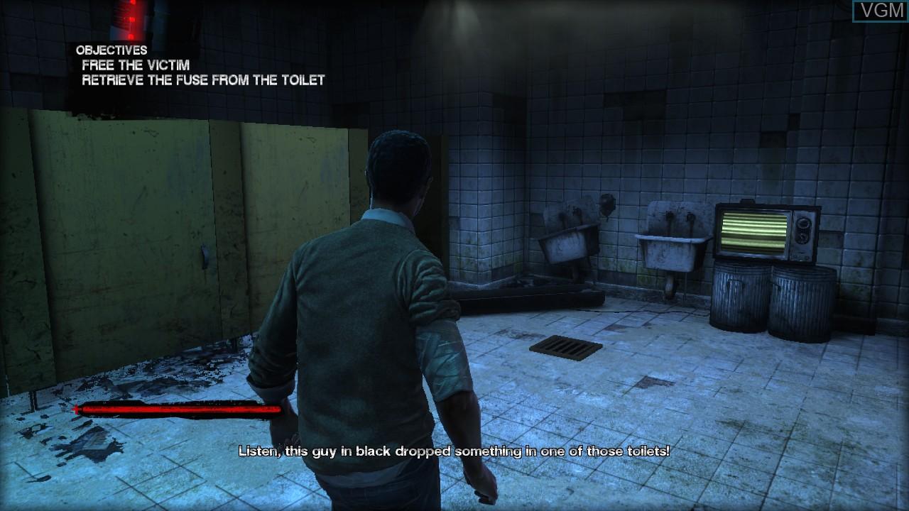 Image in-game du jeu Saw sur Sony Playstation 3