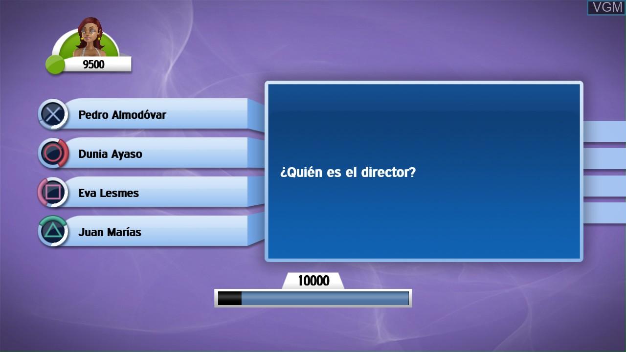 Image in-game du jeu Scene It? Bright Lights! Big Screen! sur Sony Playstation 3
