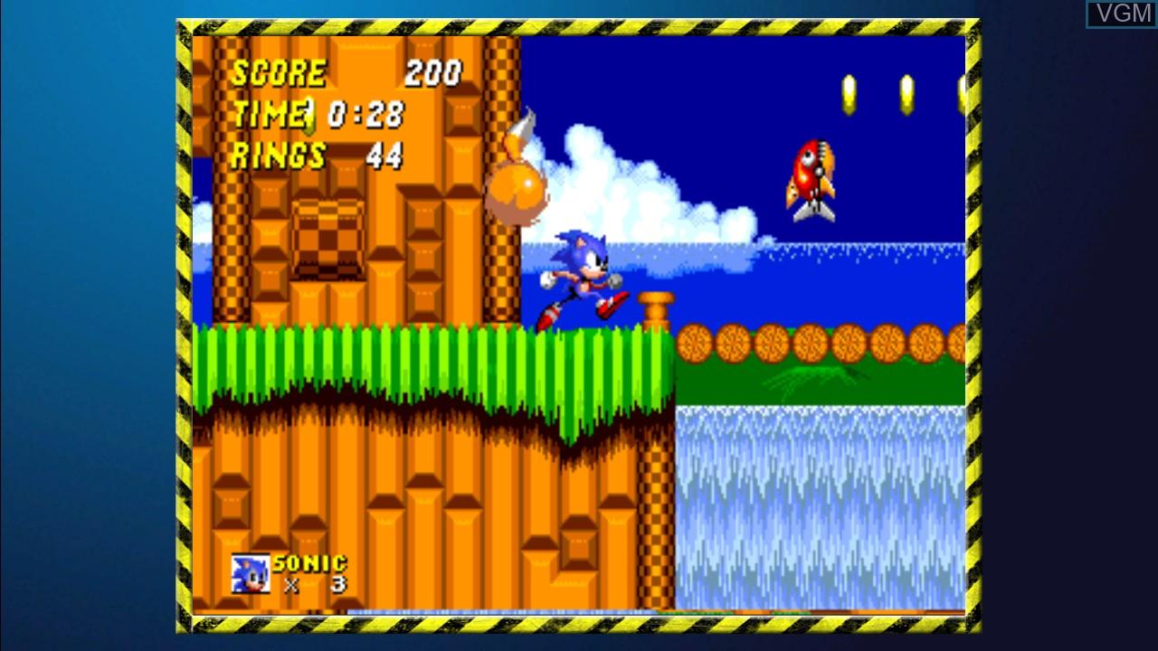 Image in-game du jeu SEGA Mega Drive Ultimate Collection sur Sony Playstation 3