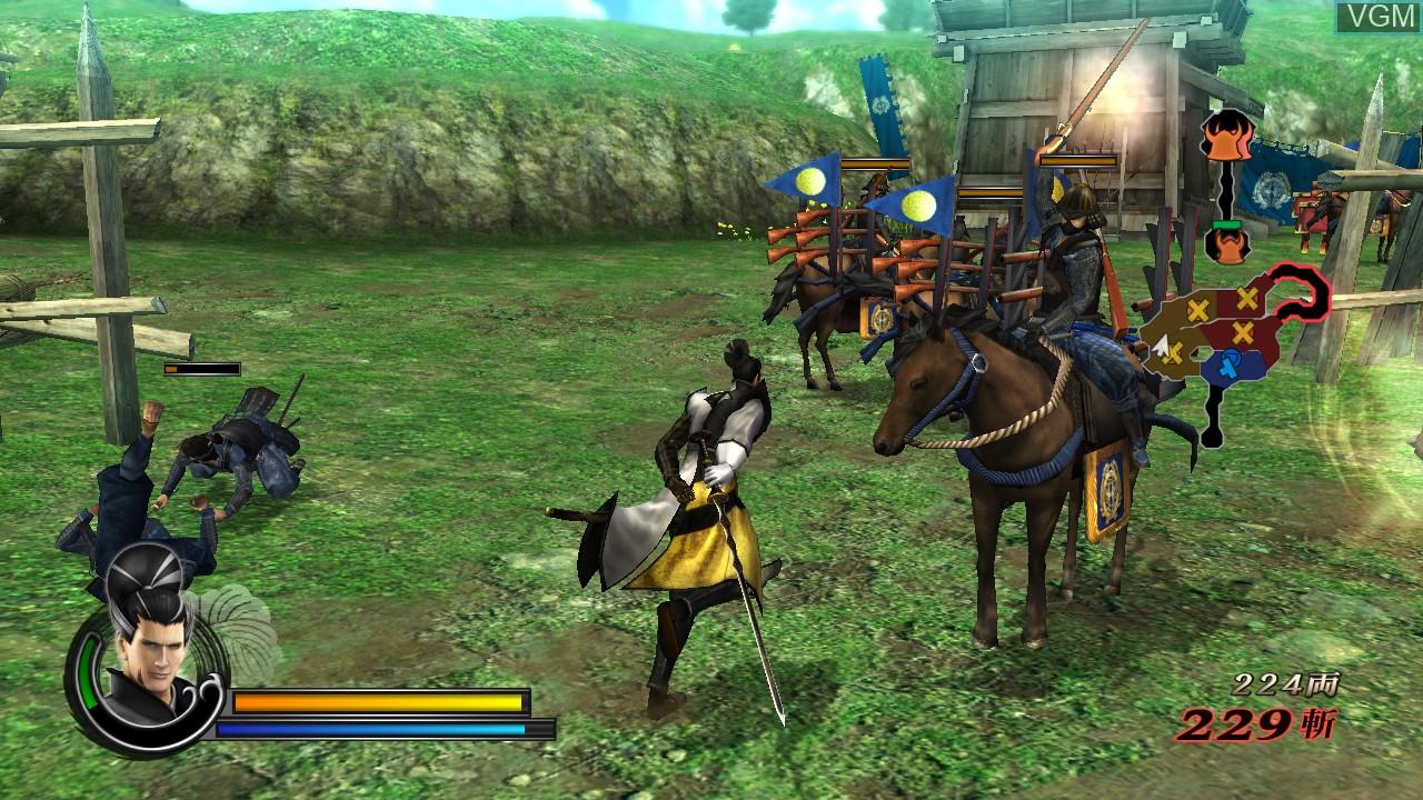 Image in-game du jeu Sengoku Basara 3 Utage sur Sony Playstation 3