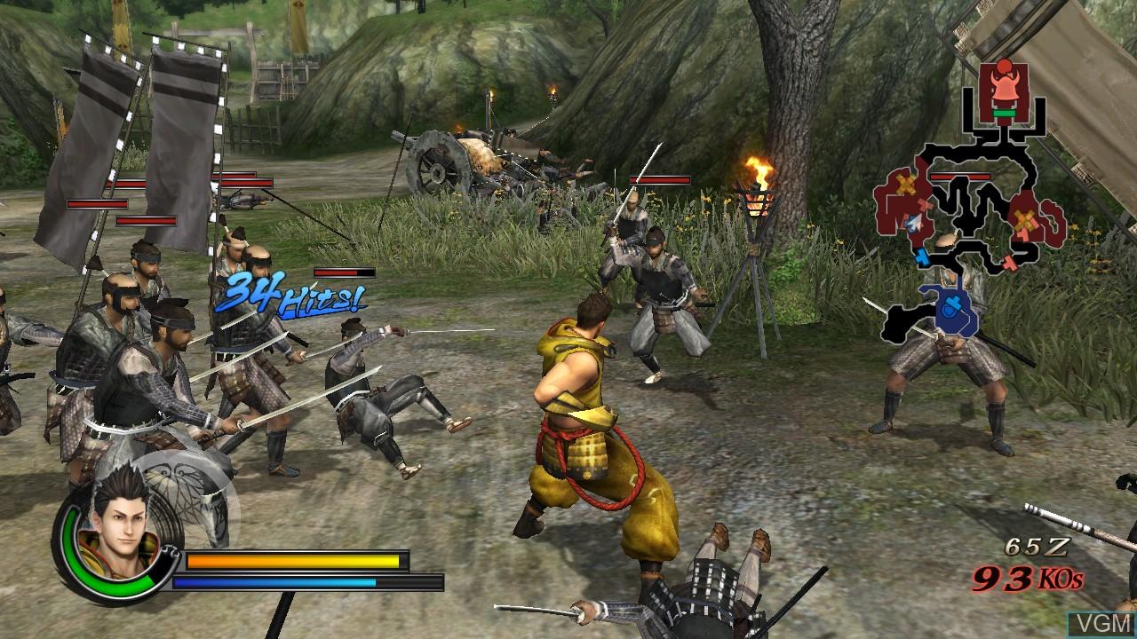 Image in-game du jeu Sengoku Basara - Samurai Heroes sur Sony Playstation 3