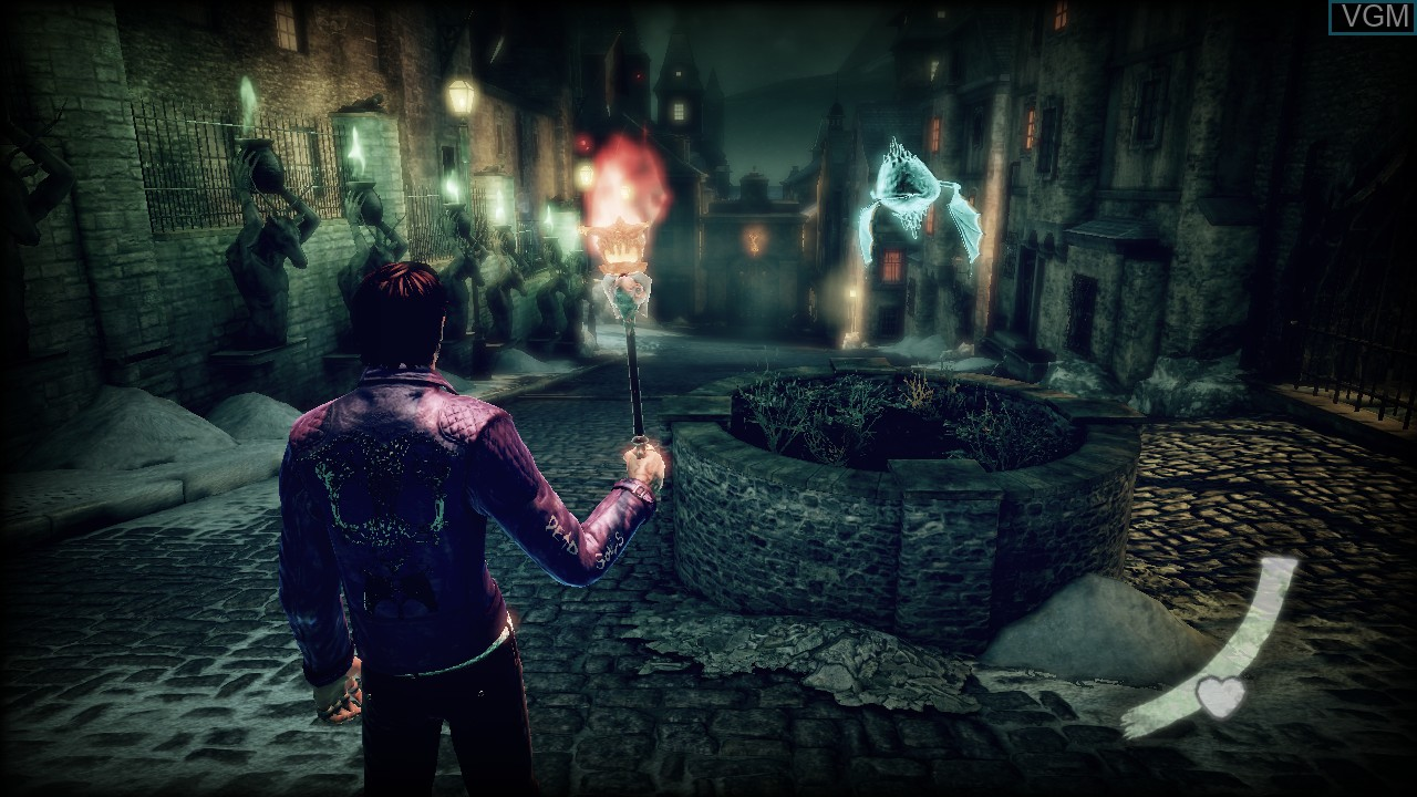 Image in-game du jeu Shadows of the Damned sur Sony Playstation 3