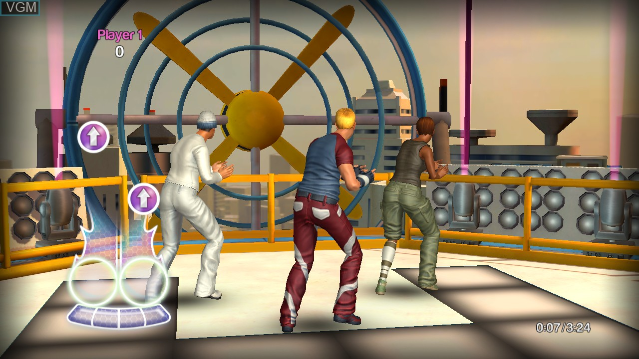 Image in-game du jeu Dance! It's Your Stage sur Sony Playstation 3