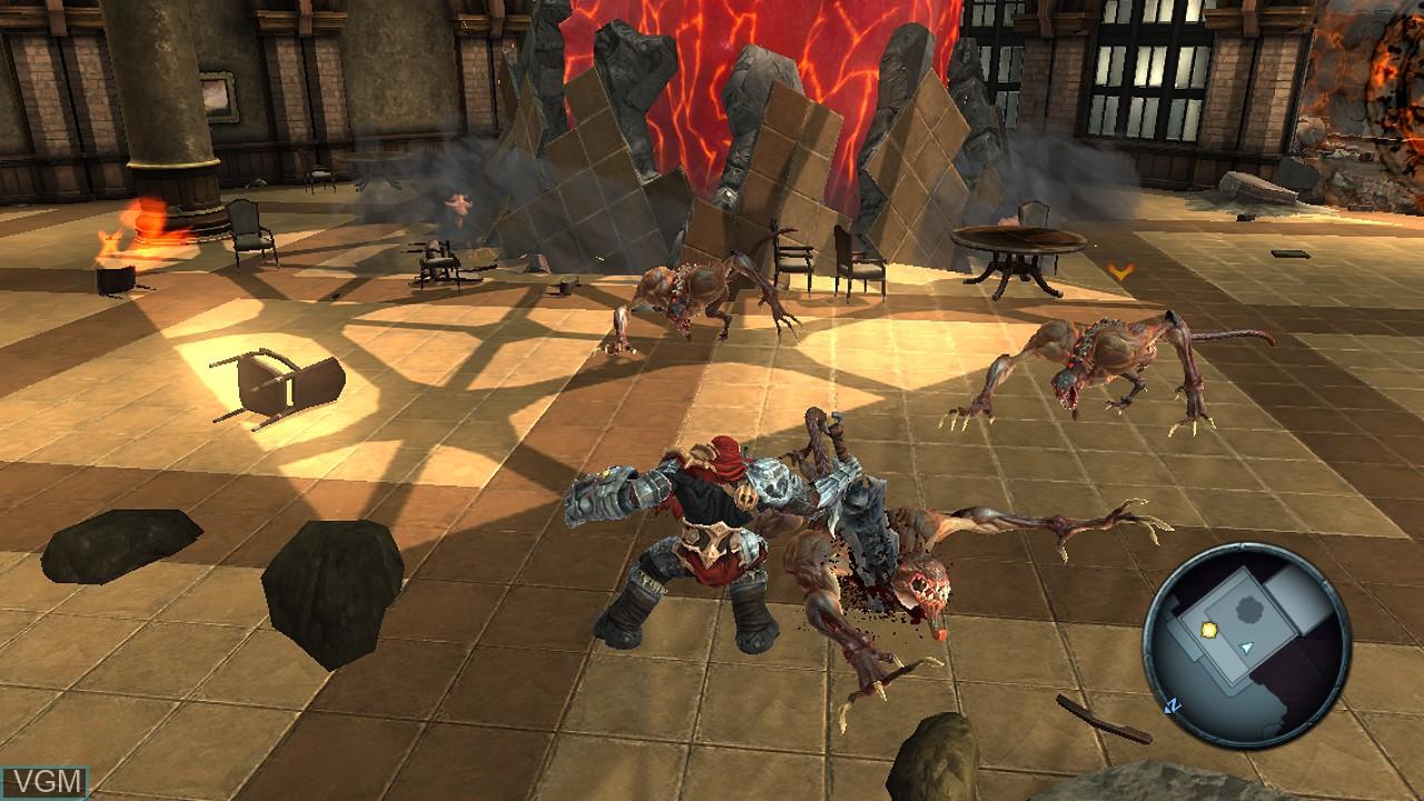 Image in-game du jeu Darksiders sur Sony Playstation 3
