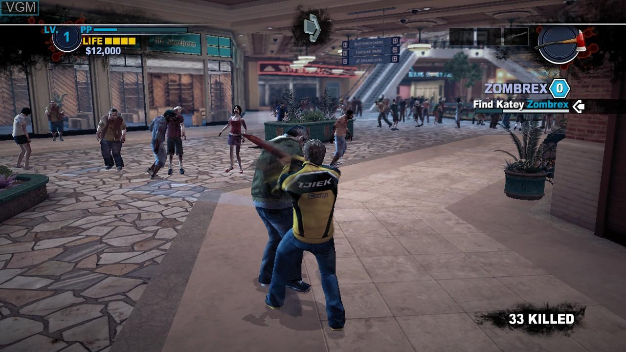 Image in-game du jeu Dead Rising 2 sur Sony Playstation 3