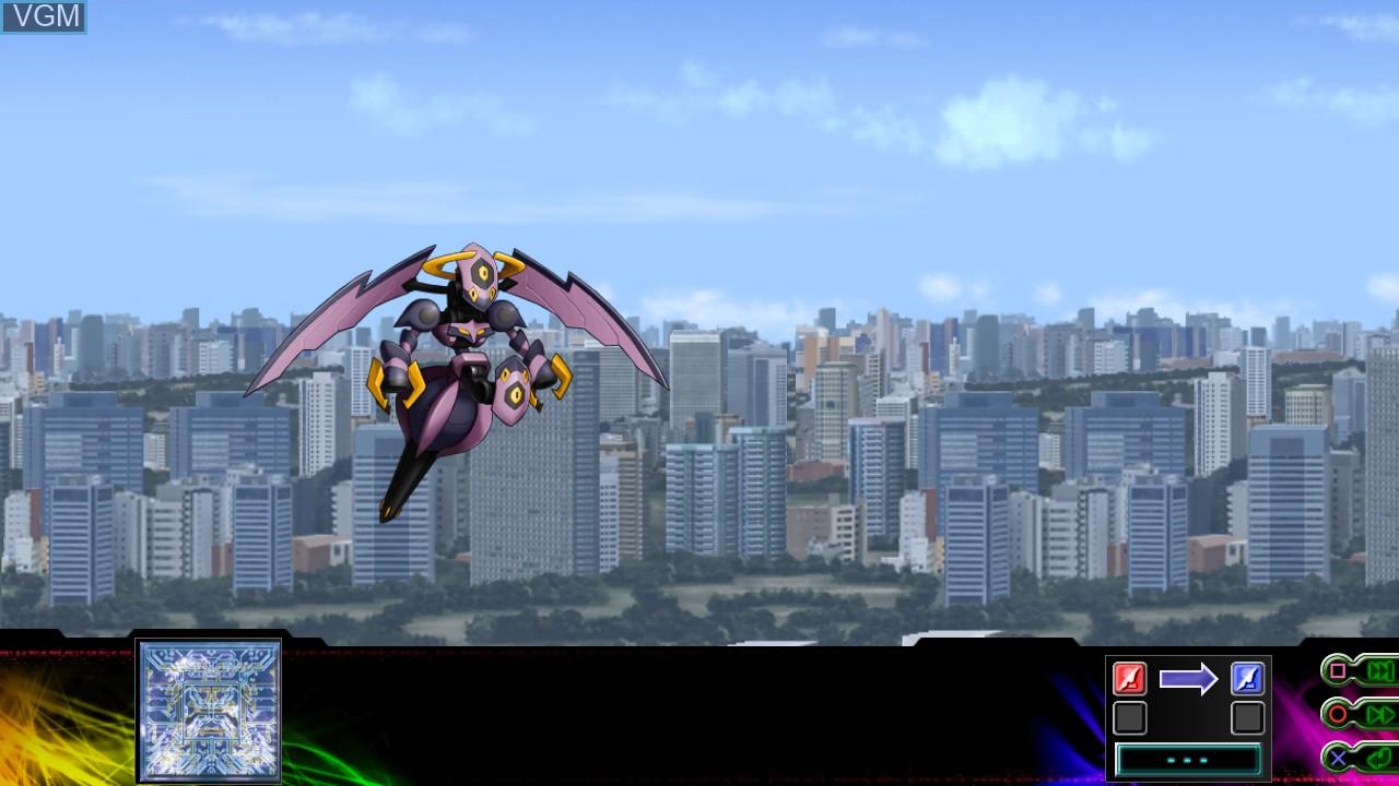 Image in-game du jeu Dai-3-Ji Super Robot Taisen Z Jigoku-hen sur Sony Playstation 3