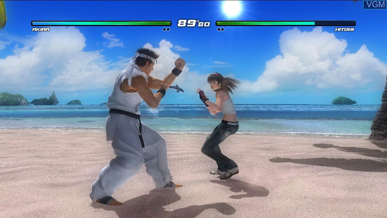 Image in-game du jeu Dead or Alive 5 Last Round sur Sony Playstation 3