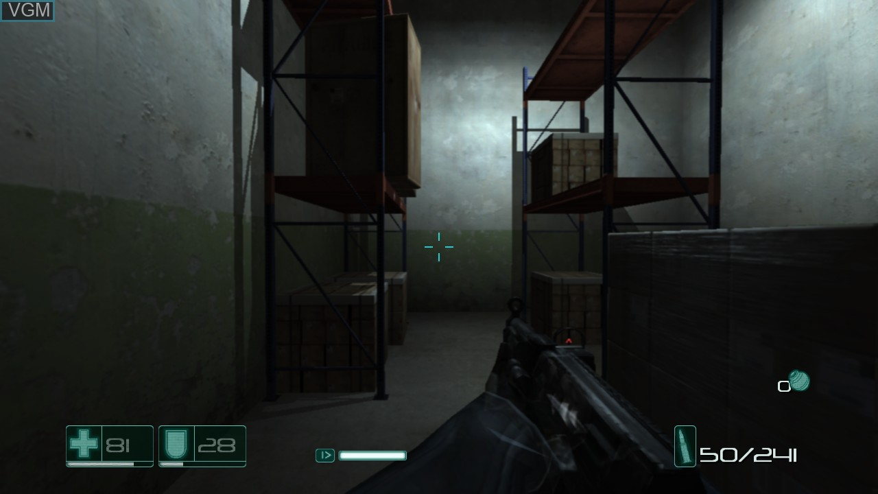 Image in-game du jeu F.E.A.R. sur Sony Playstation 3