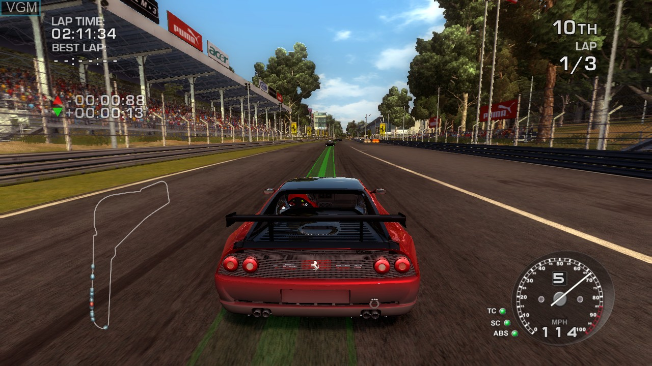 Image in-game du jeu Ferrari - The Race Experience sur Sony Playstation 3
