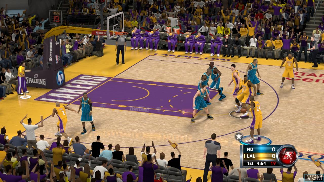 Image in-game du jeu NBA 2K12 sur Sony Playstation 3