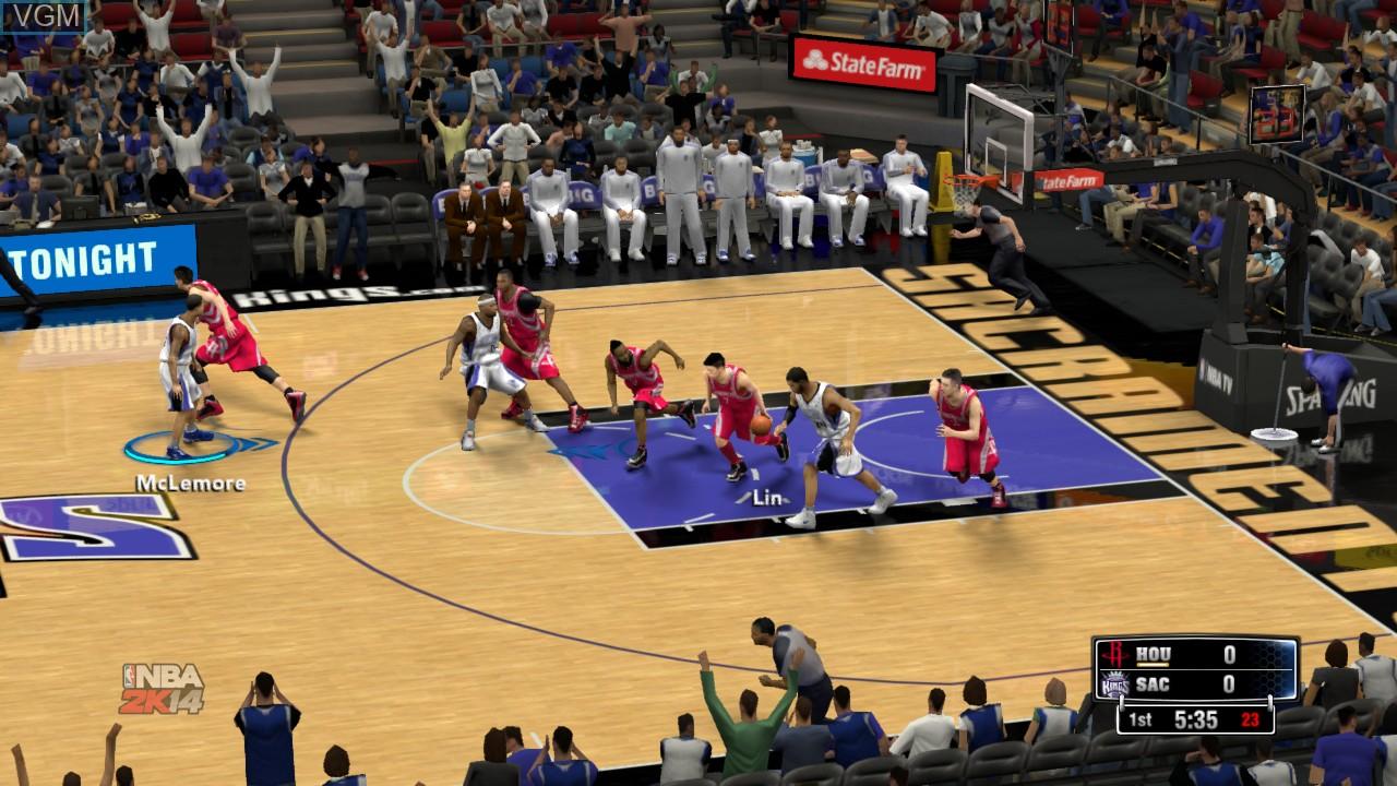 Image in-game du jeu NBA 2K13 sur Sony Playstation 3